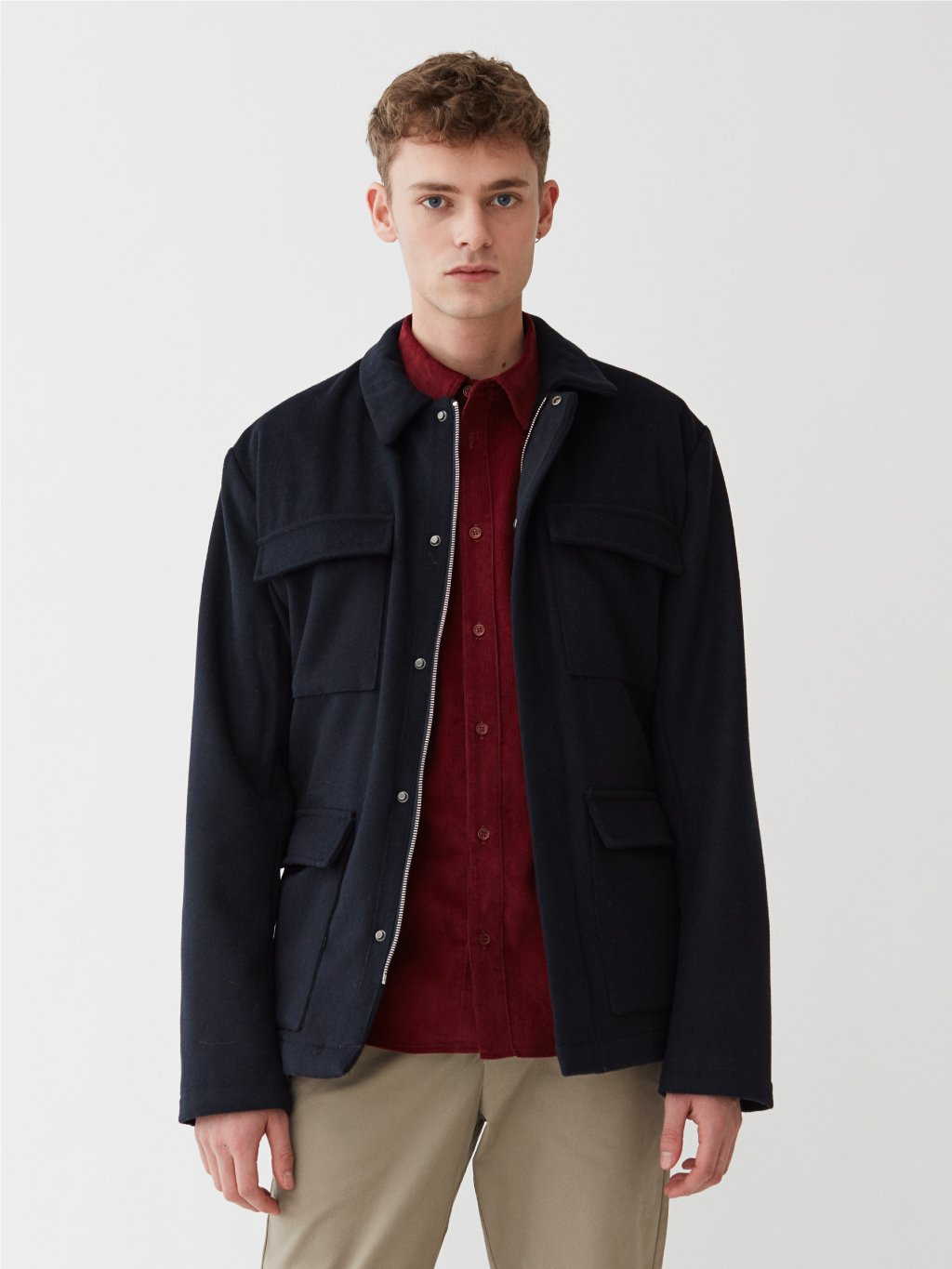 Oreti Jacket | Navy