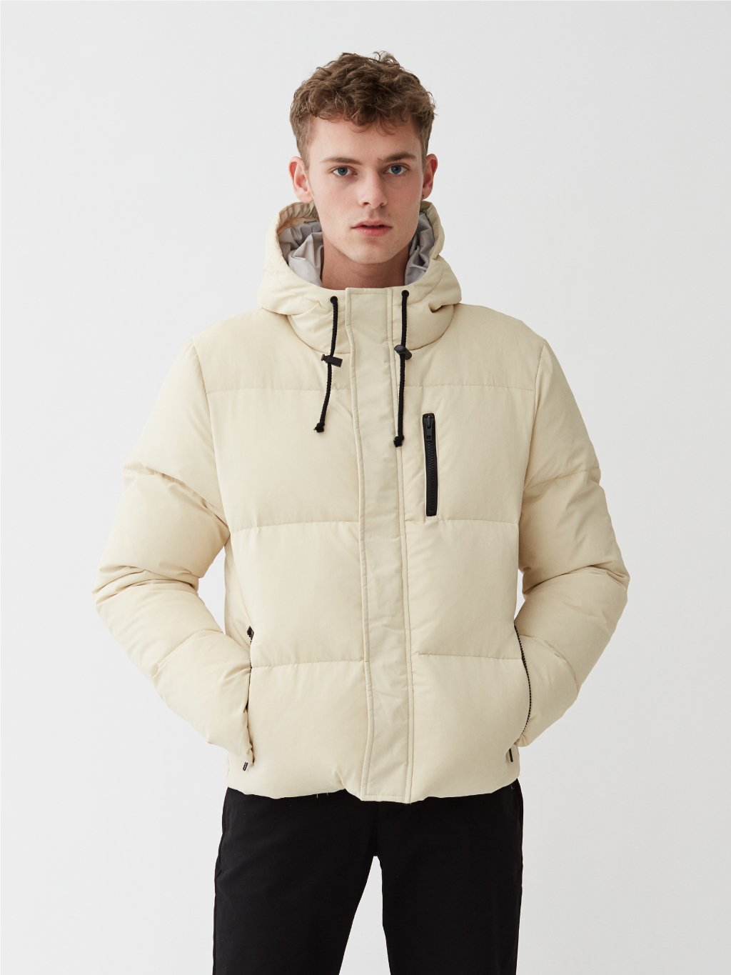 Salerno Puffer Down Jacket | Off Hvid