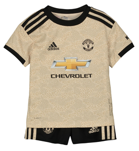 buy popular 78788 e393e Kids Manchester United Away 2019/2020 Youth Jersey Football Soccer Kit 19-20