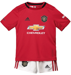 ad4ed9dff Kids Manchester United Home 2019/2020 Youth Jersey Football Soccer Kit  19-20 -