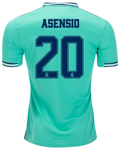 huge selection of ea14a e3506 ASENSIO #20 Real Madrid 3rd Third 2019-2020 Men Jersey Football Soccer 19/20