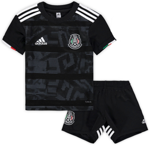 2aebe65e491 Kids Mexico Home 2019 Youth Jersey Football Soccer Kit 19/20 - Strikers  Ville