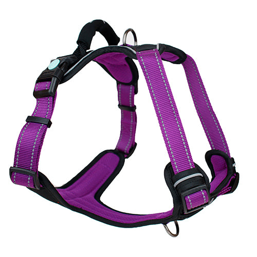 Huskimo Ultimate Dog Harness - Aurora (Purple)