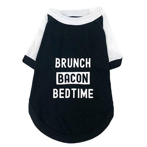 Brunch Bacon Bedtime Huskimo T-shirt