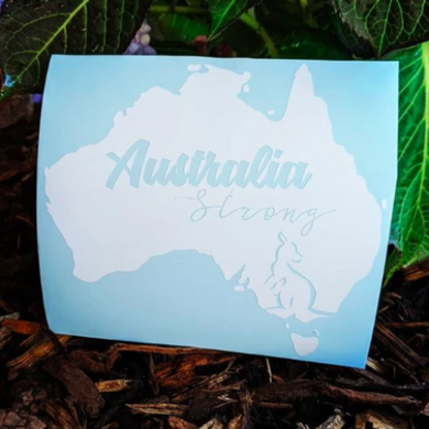 Australia Strong Fundraiser Decal