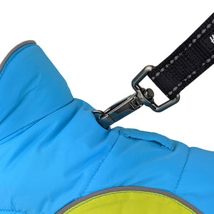 Sherpa Jacket - Bondi Blue