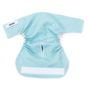 Soft Blue All In One Nappy