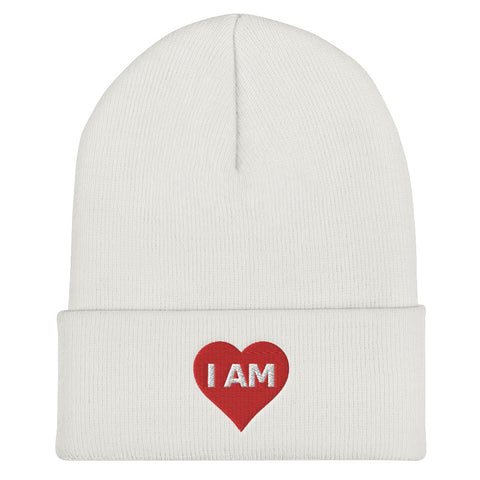 The I AM Love Cuffed Beanie