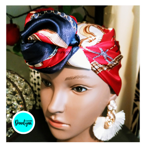 HEADBANDS, BONNETS & WRAPS