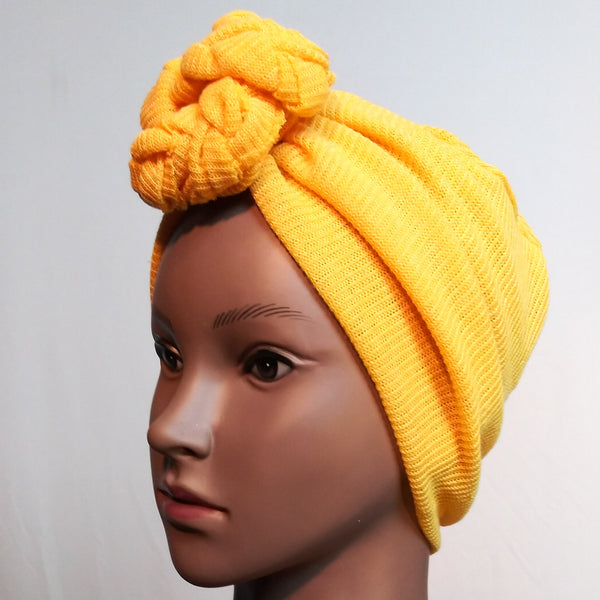 Makeda knot turban