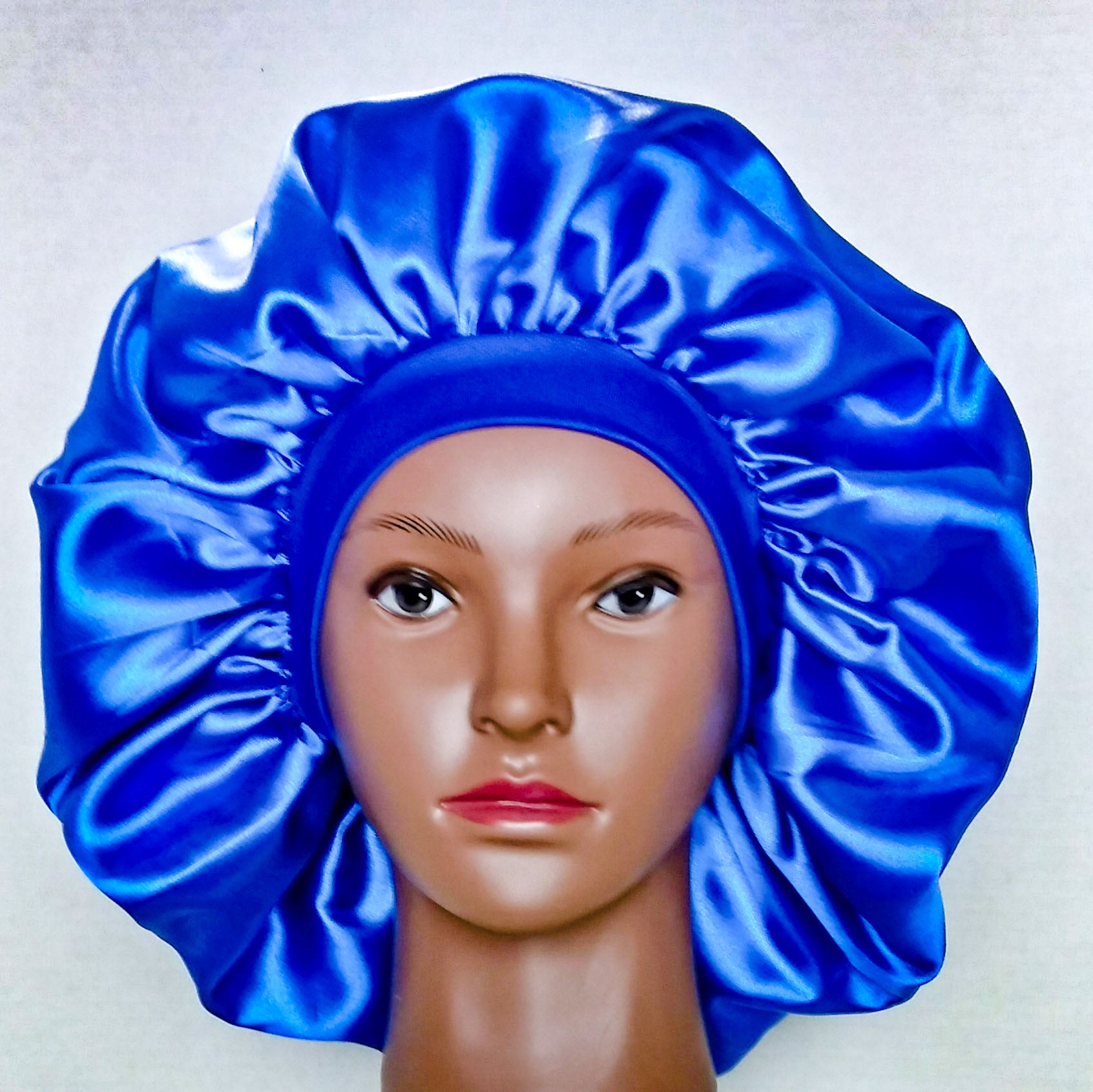 TRINA satin bonnet