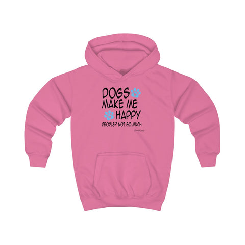 Dogs Make Me Happy Youth Hoodie