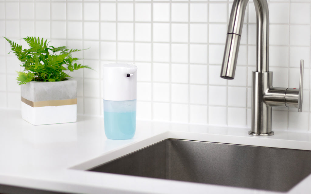 Here's Why You'll Love Our New Hands-Free Soap Dispenser