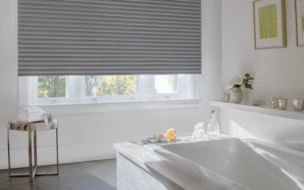 5 Practical But Design-Forward Window Treatments For The Bathroom