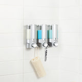 AVIVA Shower Dispenser 3 Chamber - Better Living Products Canada
