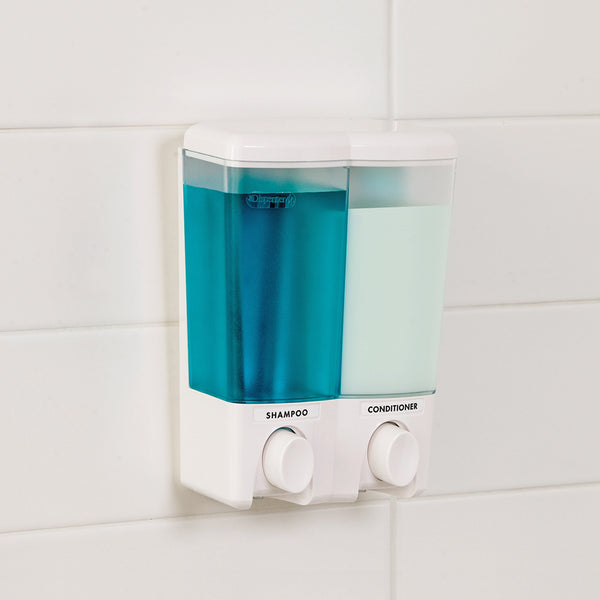 CLEAR CHOICE Shower Dispenser 2 Chamber - Better Living Products USA