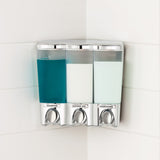 CLEAR CHOICE Shower Dispenser 3 Chamber - Better Living Products Canada