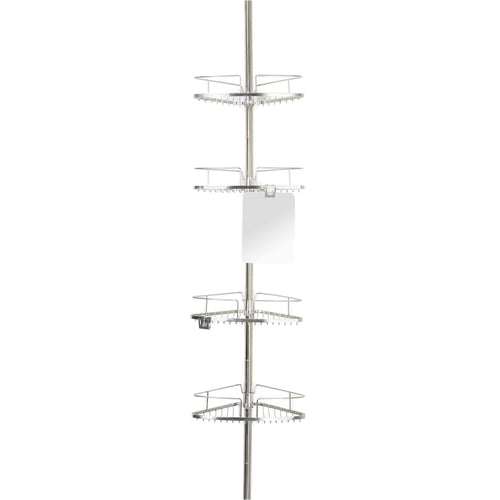 FINELINE 4 Tier Shower Caddy w/ Mirror - Better Living Products Canada