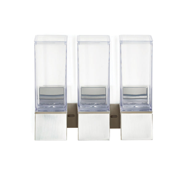 LINEA Luxury Triple Shower Dispenser - Better Living Products Canada