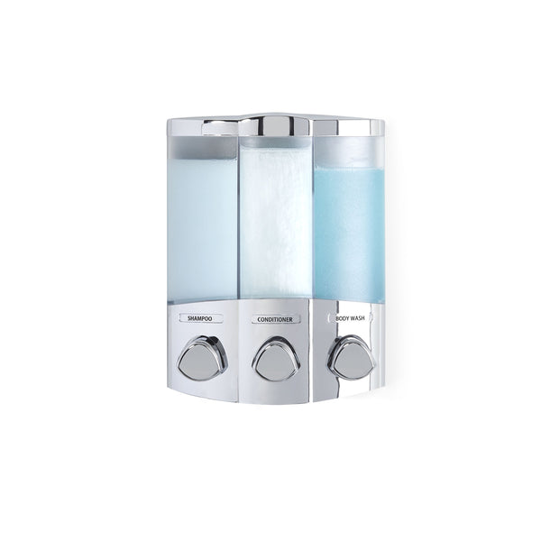 TRIO Shower Dispenser 3 Chamber - Better Living Products USA