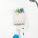 ULTI-MATE Dispenser 4 Chamber Shower Caddy - Better Living Products Canada