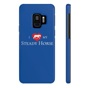"""I Heart My Steady Horse"" Phone Case"
