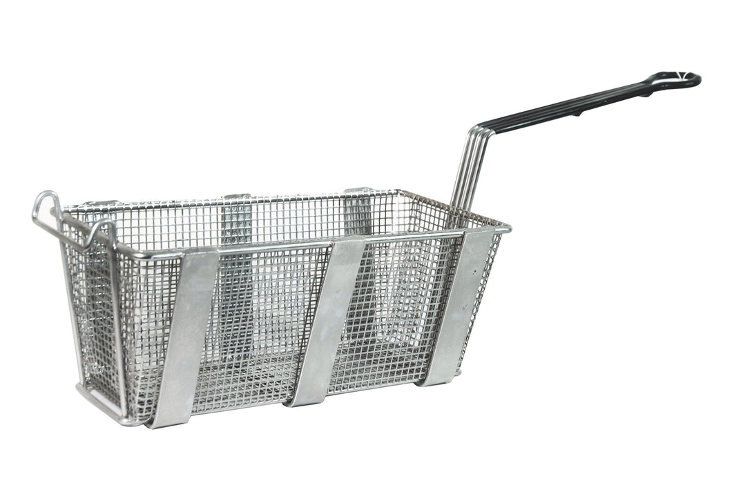 French Fry Baskets in Heavy Duty, Reinforced Stainless Steel