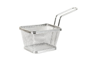 Mini Baskets in Stainless Steel