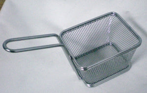 Mini Baskets in Stainless Steel (for fries, appetizers)