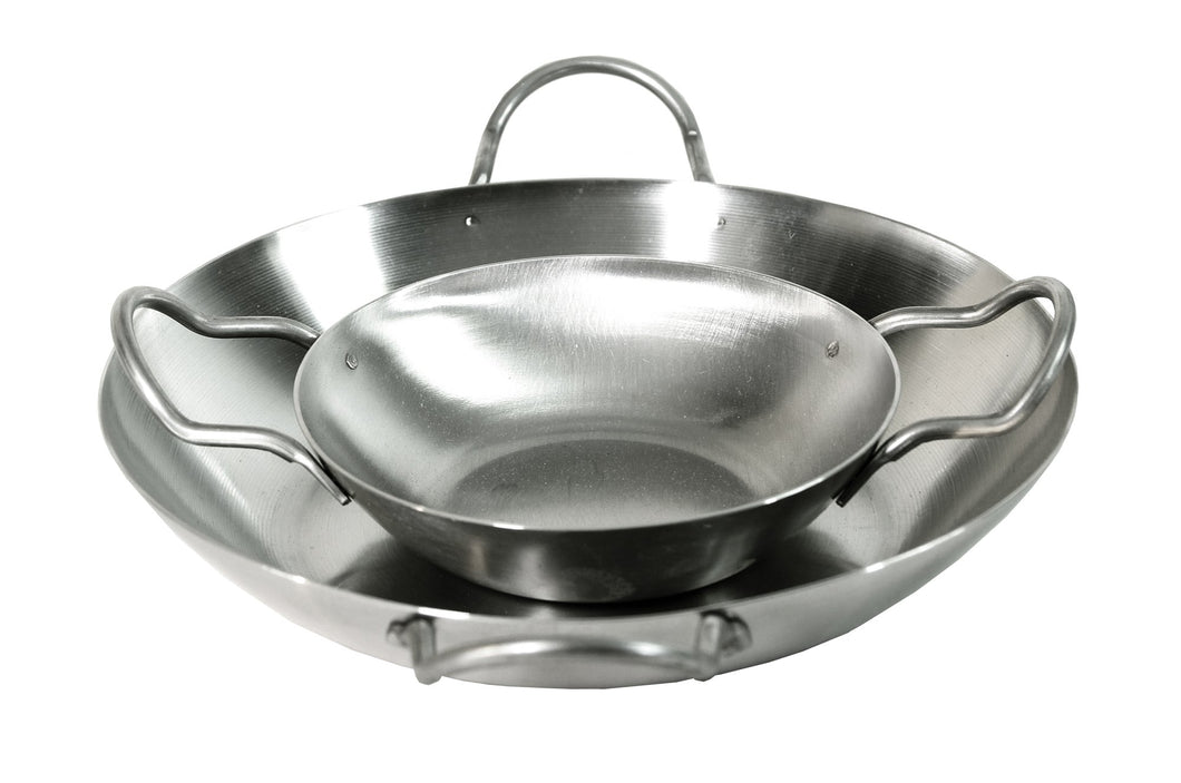 Paella Pans in Stainless Steel