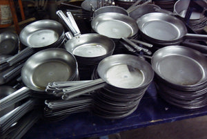 Fry Pans / Sautee Pans in Carbon Steel (black steel)