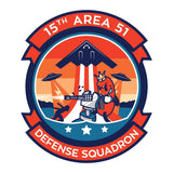 Area 51 Defense Squadron Patch