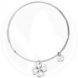 Flower Hearts Bangle