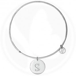 Round Bangle Letter S