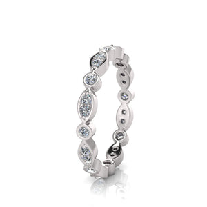 Sterling Silver Cubic Zirconia Ring 355