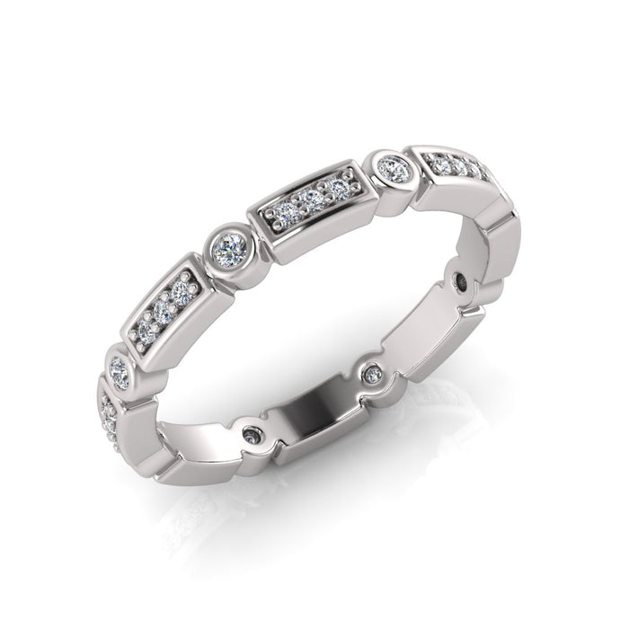 Sterling Silver Cubic Zirconia Ring 682