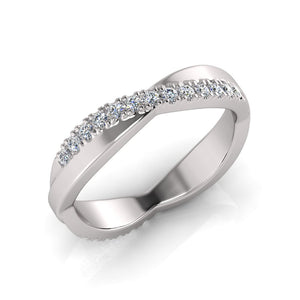 Sterling Silver Cubic Zirconia Ring 684