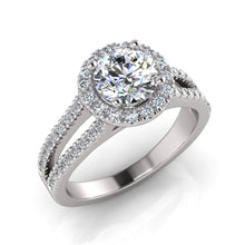 Load image into Gallery viewer, Surreal Engagement Ring 706