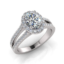 Load image into Gallery viewer, Surreal Engagement Ring 707