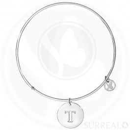 Round Bangle Letter T