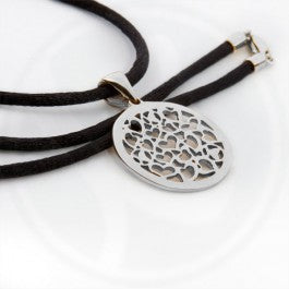 Circle of Love Pendant -  silver