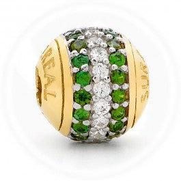 Triple Bling Green Two Row