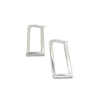 Long Rectangular Earrings