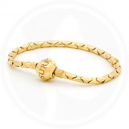 Surreal Gold Bracelet 18cm
