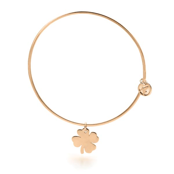 Clover Bangle (Gold)