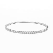 Load image into Gallery viewer, Diamond Hinged Bangle