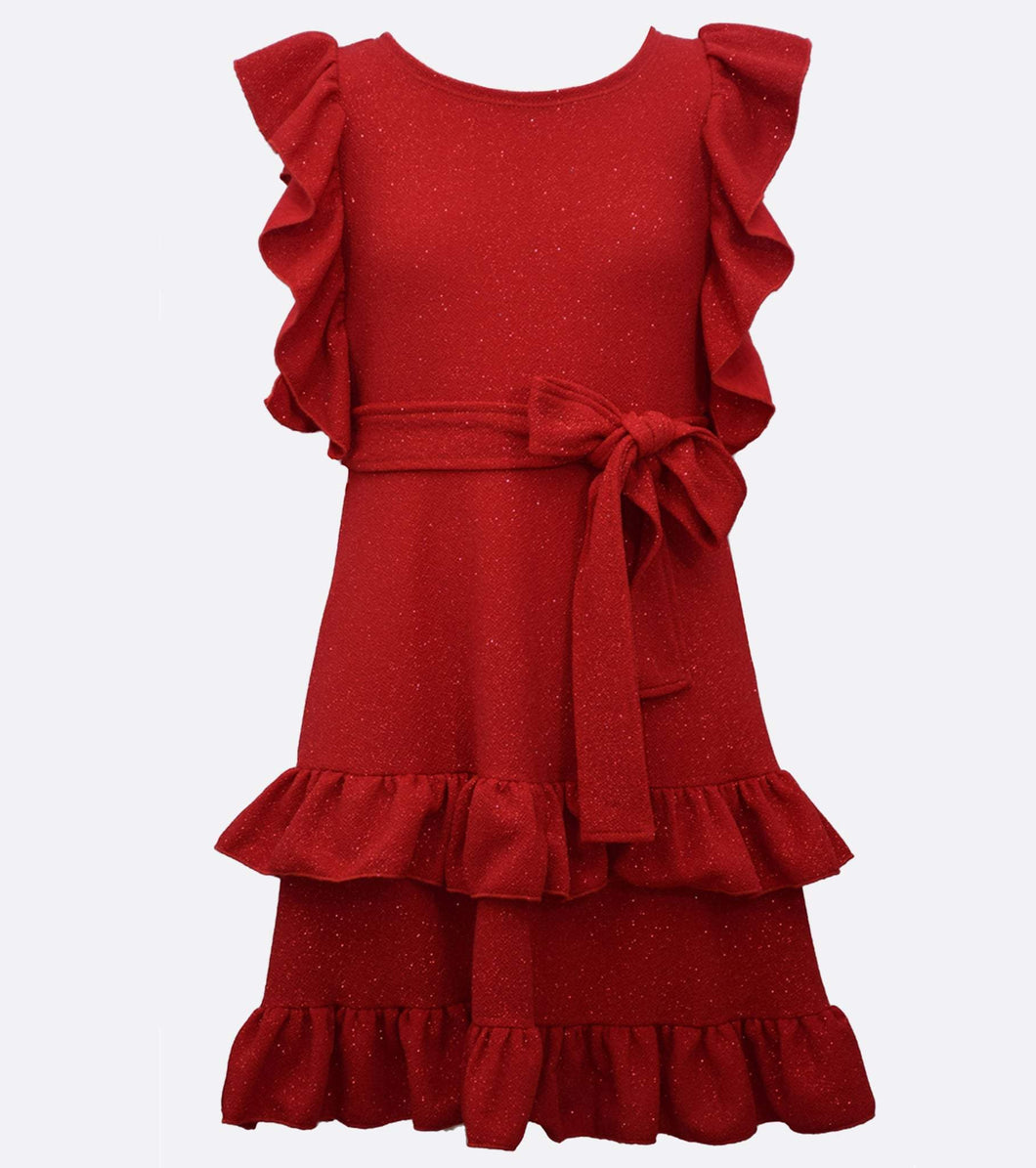 Bonnie Jean Renee Ruffle Dress