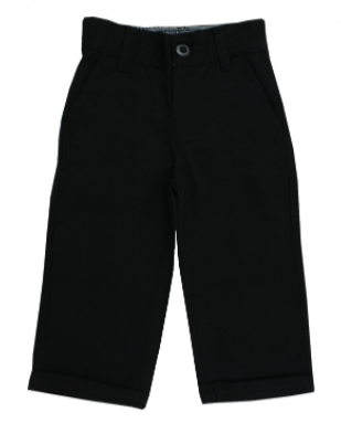 Rugged Butts Black Dress Pant