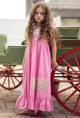 Little Prim Ireland Maxi in Poppy