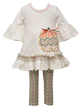 Bonnie Jean Pumpkin Pastel 2 PC Set